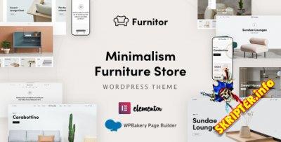 Furnitor v1.0.0 - тема WordPress для мебельного магазина