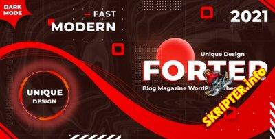 Forter v1.3 - тема WordPress для журналов и блогов