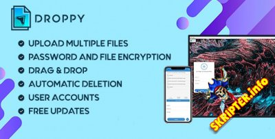 Droppy v2.2.9 - скрипт хостинга файлов
