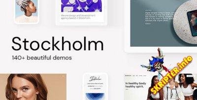 Stockholm v8.9 Nulled - многофункциональный для WordPress