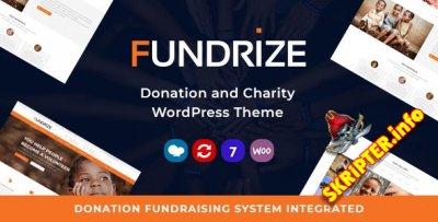 Fundrize v1.20 - WordPress тема для пожертвований и благотворительности