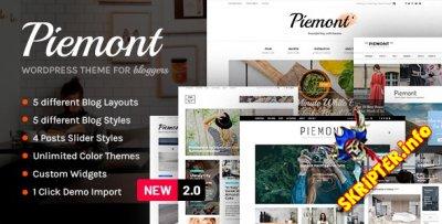 Piemont v2.2 - WordPress тема для блога