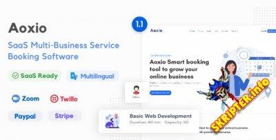 Aoxio v1.1 Nulled - скрипт для бронирования бизнес-услуг