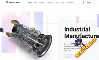 JS Manufacturer v1.1 - Joomla шаблон для предприятий