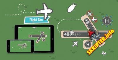 Flight Sim v1.8 - HTML5 Game