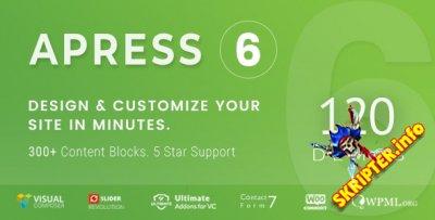 Apress v6.0.2 - гибкая многоцелевая WordPress тема