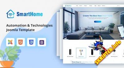 Sj SmartHome v3.10 - шаблон Joomla для умного дома