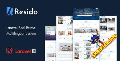 Resido v1.8 - скрипт каталога недвижимости