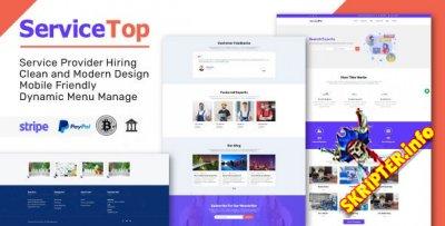 ServiceTop v1.0 - торговая площадка для продажи услуг