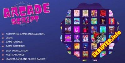 Mobile Responsive Arcade Site Script v2.4.3 - скрипт игрового портала