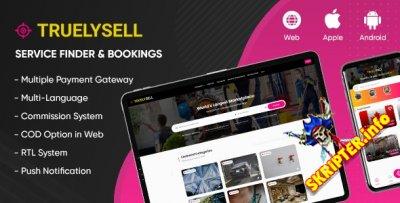 TruelySell v2.0.8 - магазин услуг по требованию