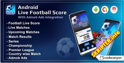 Android Football Live Score v1.0 - Soccer Live Score 2021 (Android 11)