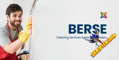 Berse v1.0 - шаблон Joomla для клининговых услуг