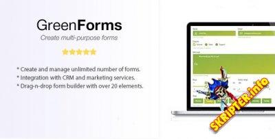 Green Forms v1.39 - автономный конструктор форм