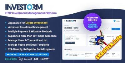 Investorm v1.1.3 Nulled - скрипт управления инвестициями