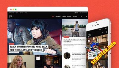 JA Flix v2.0.0 - Joomla шаблон для сайта новостей киноиндустрии