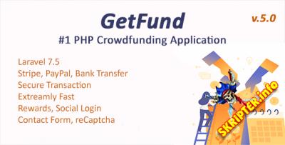 GetFund v5.2 - профессиональная платформа для краудфандинга