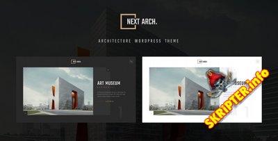 Next Arch v1.0 - творческая тема для WordPress