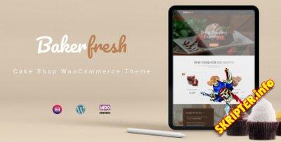 Bakerfresh v1.0.1 - WordPress тема для кондитерских