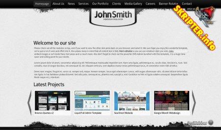 Flashden: Slick XML Website Template - купленная версия