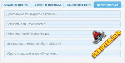 Сборный плагин WP Total Hacks 0.9.1 Rus