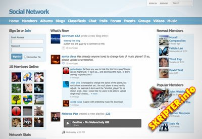 Social Engine 4.7.0 RUS + All Plugins