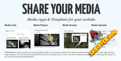 HWD Media Share Pro v2.0.2 Rus + All Addons And Apps