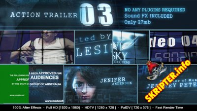 Action Trailer 3 - Project for After Effects (Videohive)