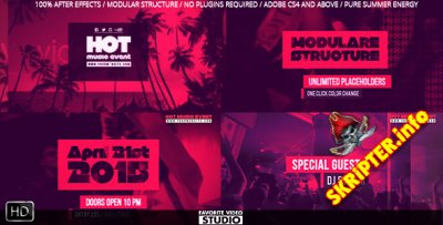 Hot Music Event - Project for After Effects (Videohive)