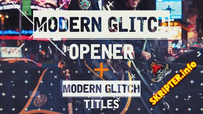 Epic Modern Glitch Opener - Project for After Effects (Videohive)