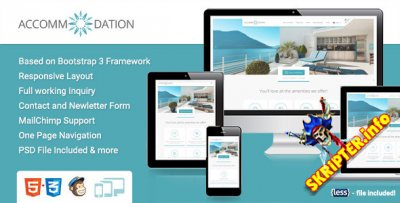 Accommodation Landing Page