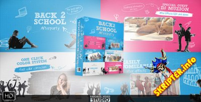 Back 2 School After Party - Project for After Effects (Videohive)