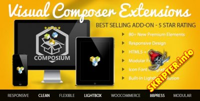 Visual Composer Extensions v4.0.1 -  ���������� ����������� ��� WordPress
